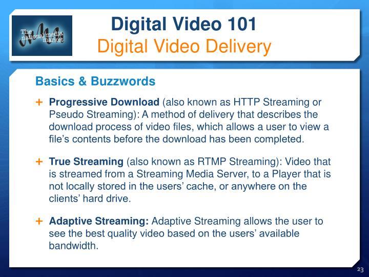 Progressive Download
