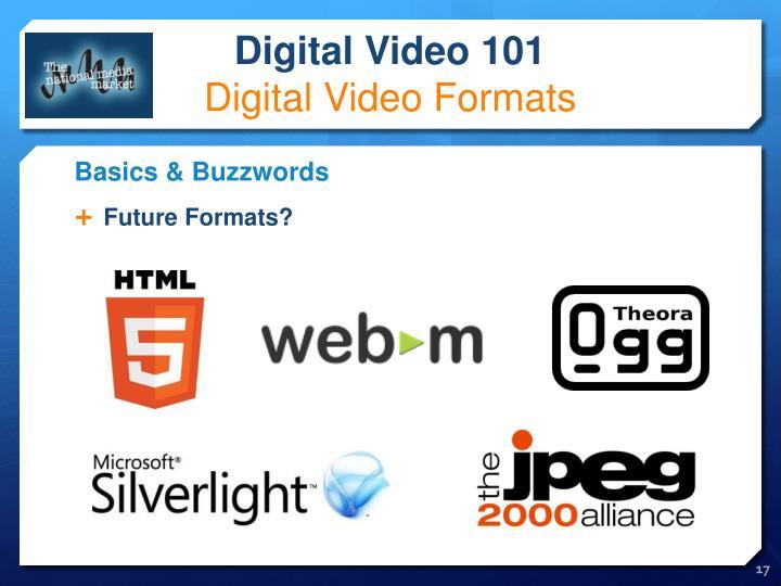 Future Formats?