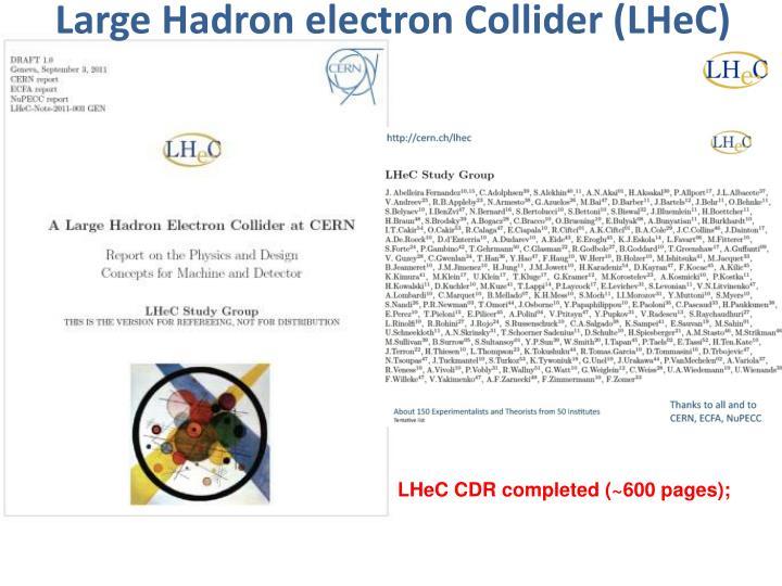 Large Hadron electron Collider (