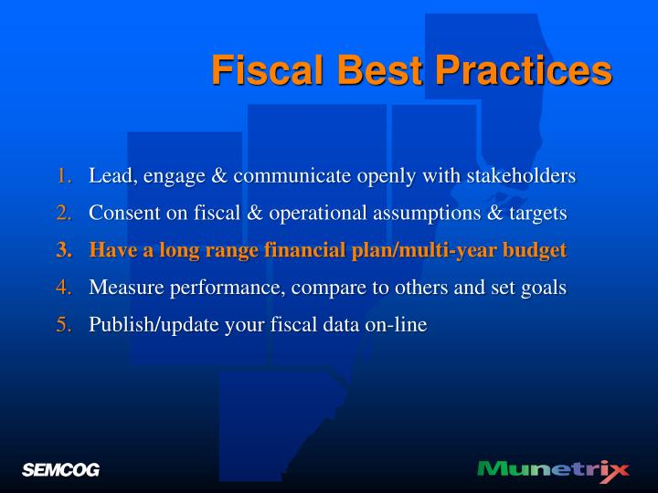 Fiscal Best Practices