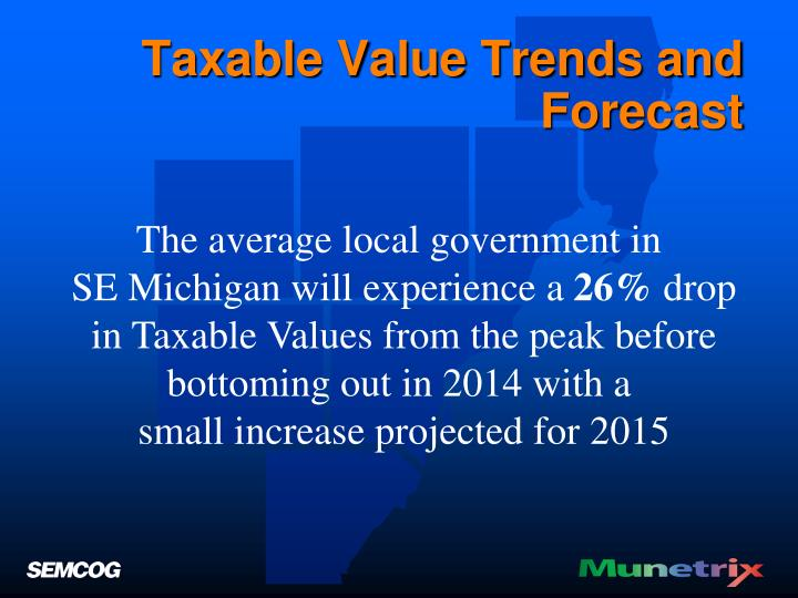 Taxable Value Trends and Forecast