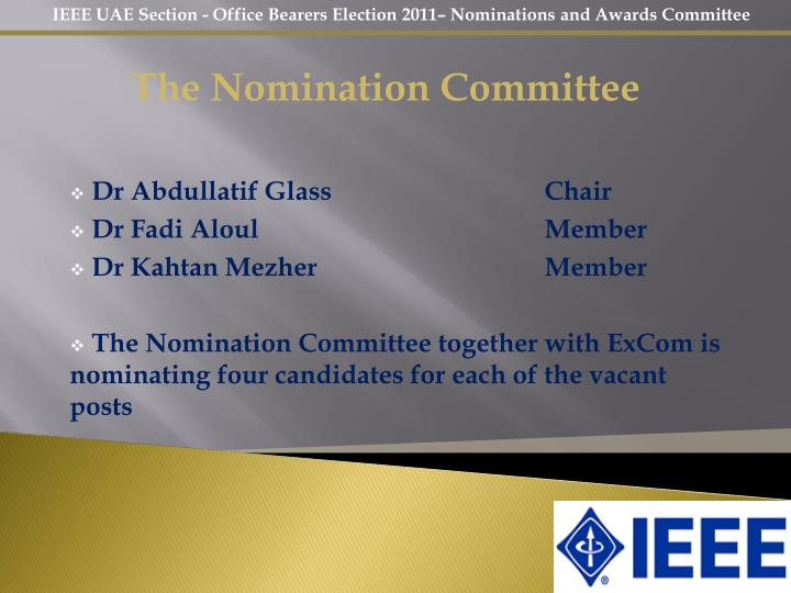 The Nomination Committee