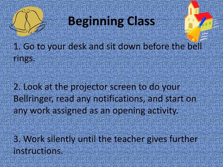Beginning Class