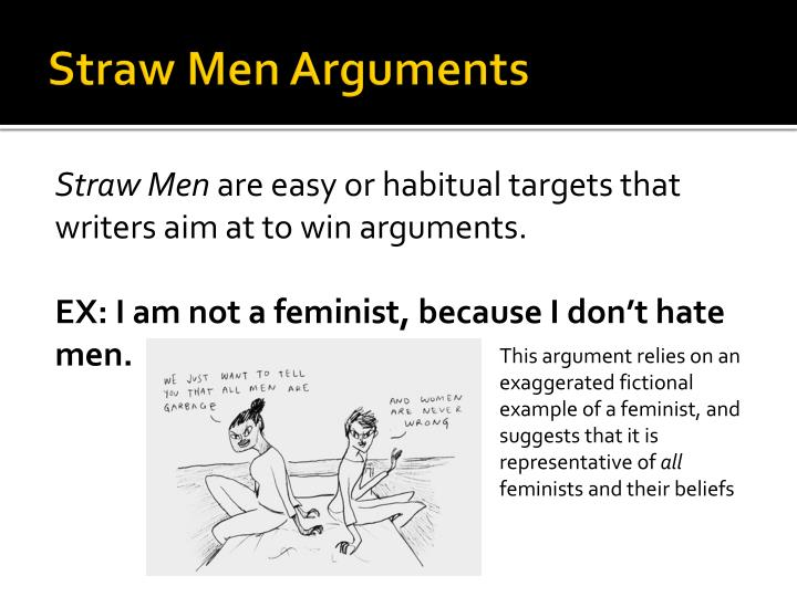 Straw Men Arguments