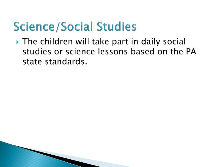 Science/Social Studies