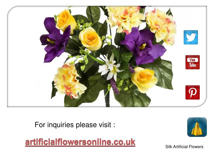 artificialflowersonline.co.uk