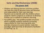 seitz and bartholomew 2008 the power shift