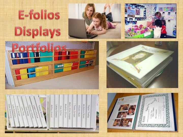 E-folios