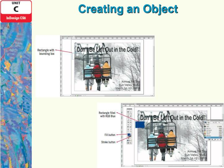 Creating an Object