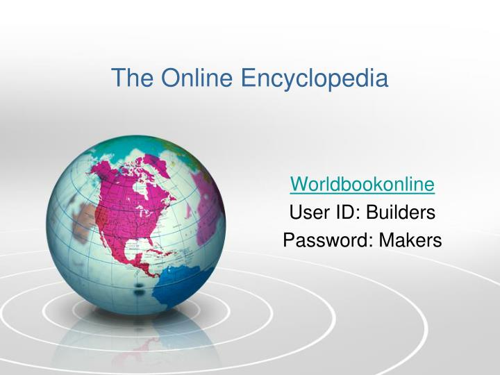 The Online Encyclopedia