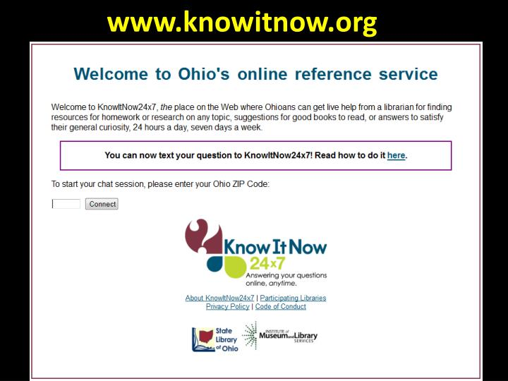 Www.knowitnow.org