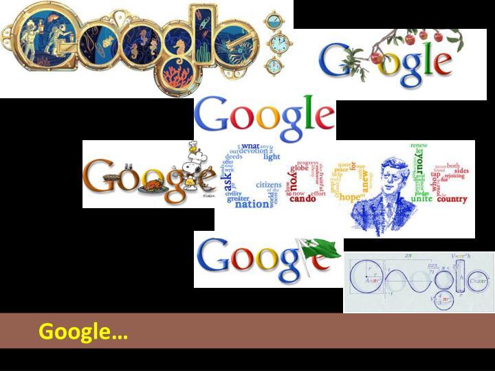 Google…