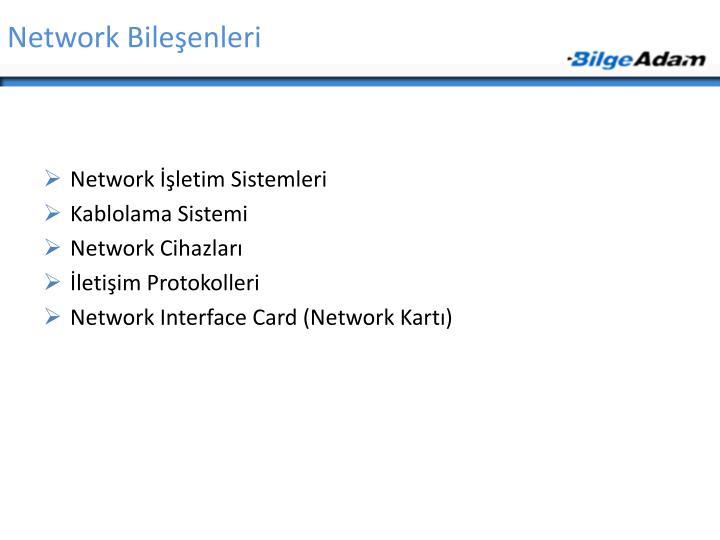Network Bileşenleri