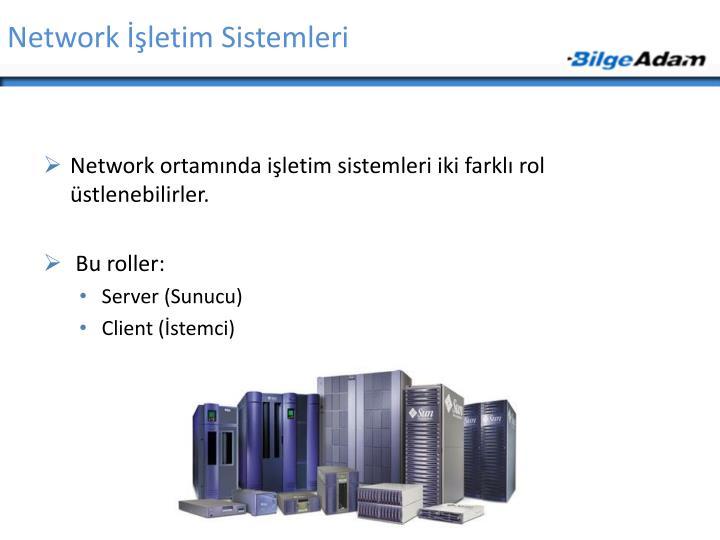 Network İşletim Sistemleri