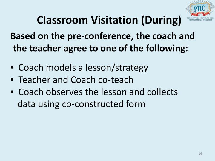Classroom Visitation (During)