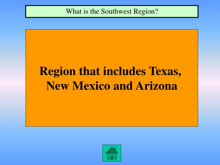 What is the Southwest Region?