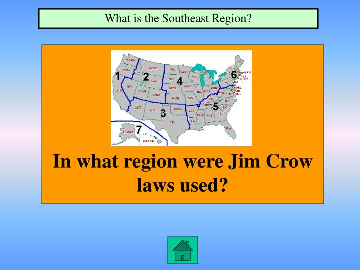 What is the Southeast Region?