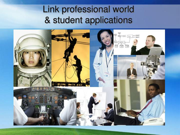 Link professional world