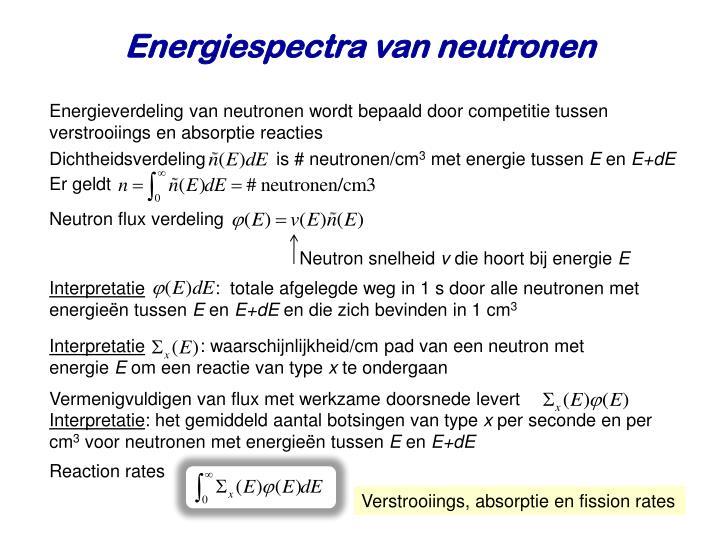 Energiespectra