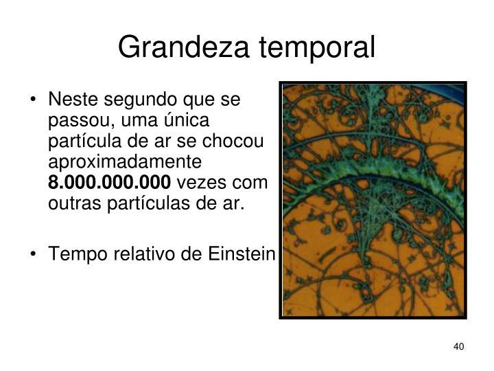 Grandeza temporal