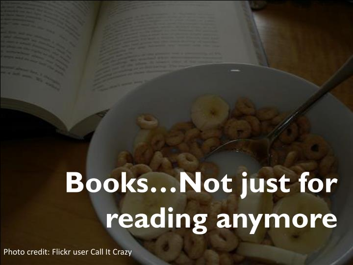 Books…Not