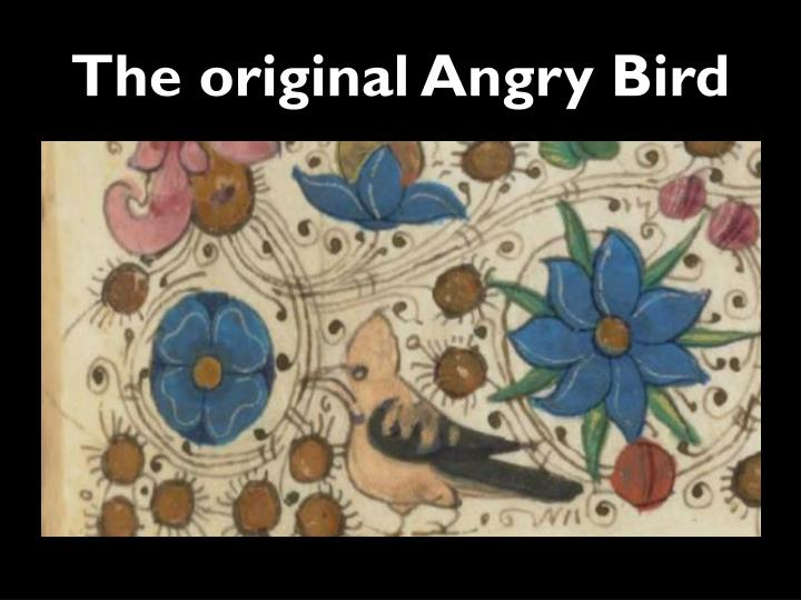 The original Angry Bird