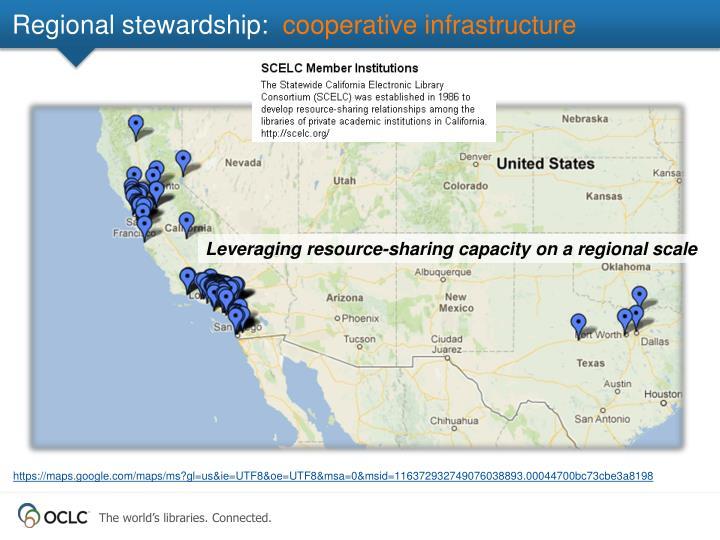 Regional stewardship: