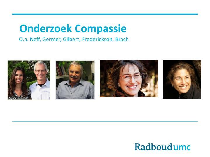 Onderzoek Compassie