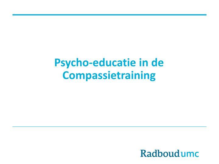 Psycho-educatie