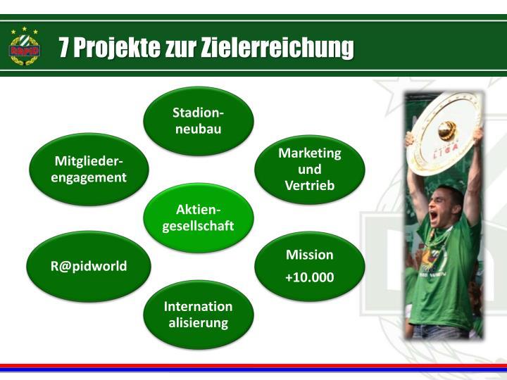 7 Projekte