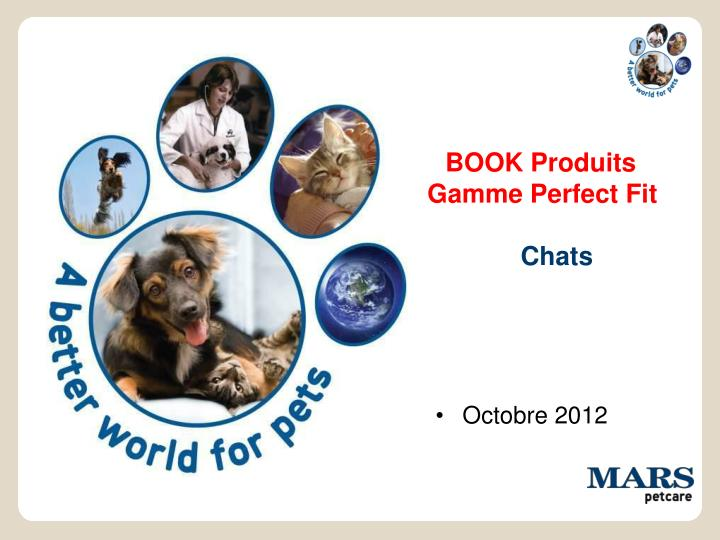 Book produits gamme perfect fit chats