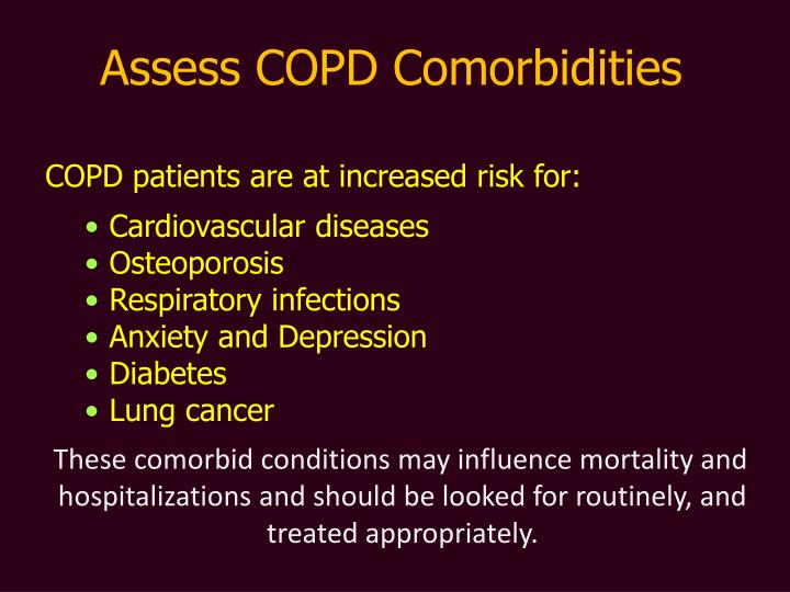 Assess COPD Comorbidities