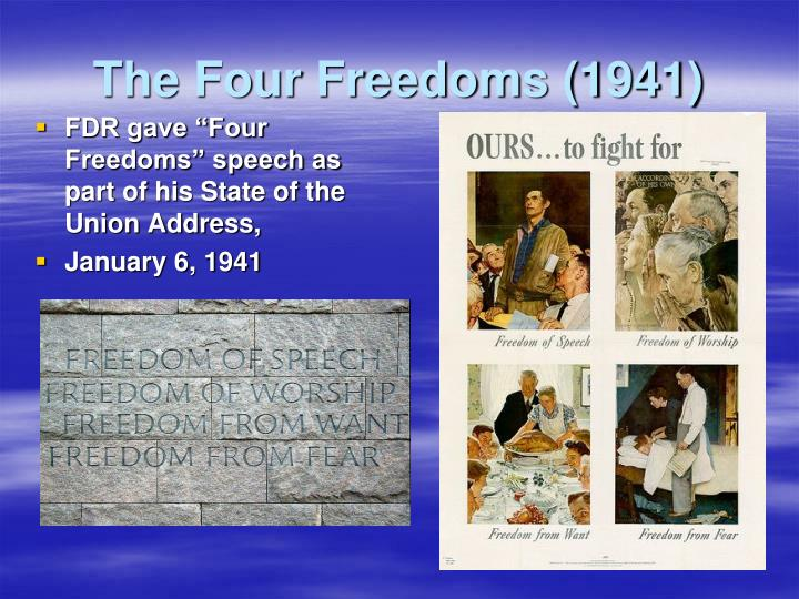 The Four Freedoms (1941)