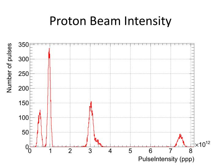 Proton Beam Intensity