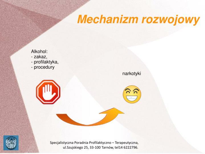 Mechanizm rozwojowy