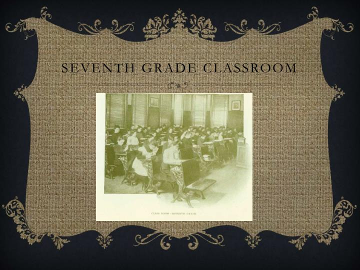 Seventh Grade Classroom