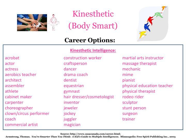 Career Options: