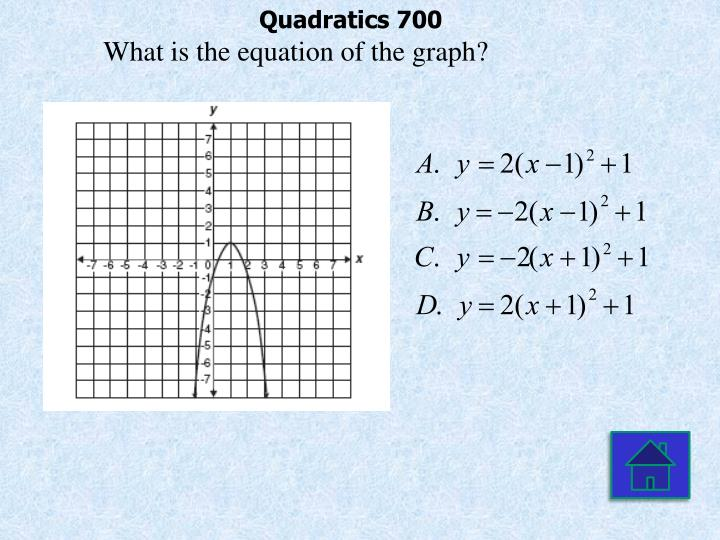 Quadratics 700