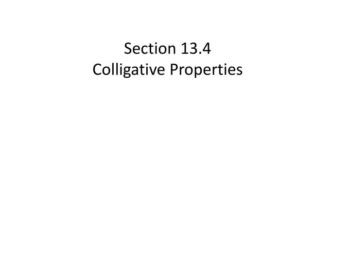 colligative properties and the making of Colligative properties lesson plans and worksheets from thousands of teacher-reviewed resources to help you inspire students learning.
