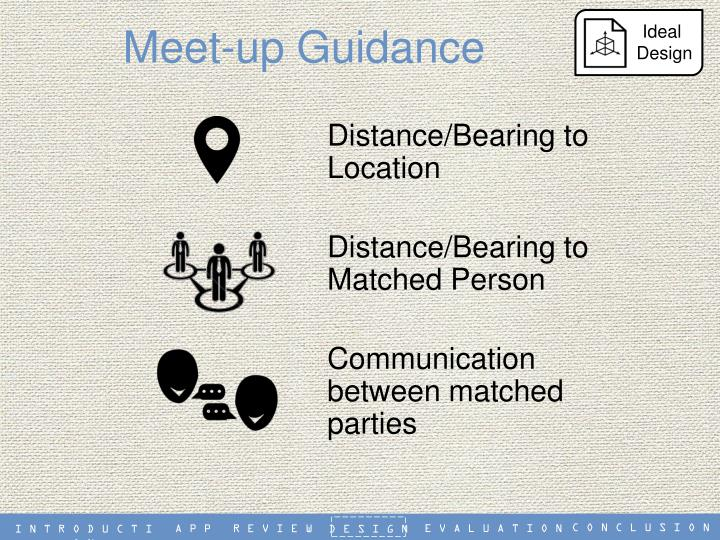 Meet-up Guidance