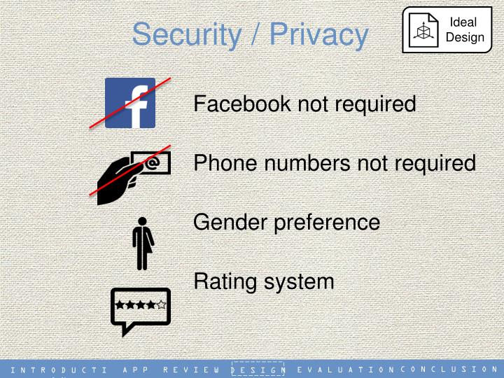 Security / Privacy