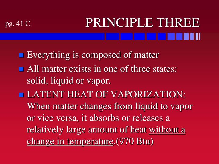 PRINCIPLE THREE