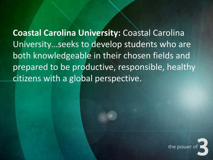 Coastal Carolina University: