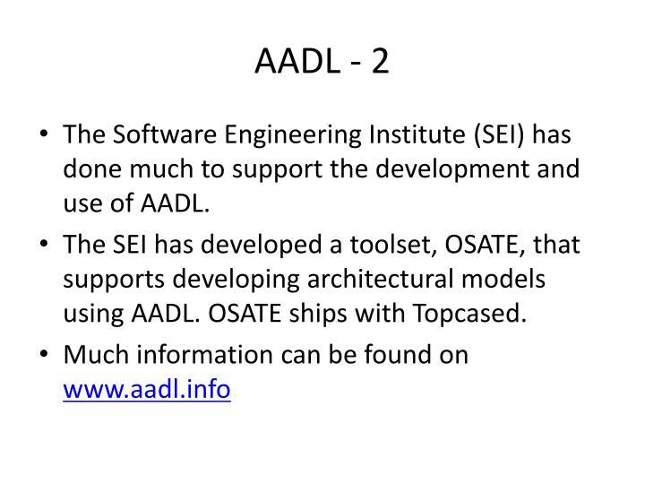 AADL - 2