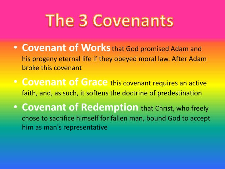 The 3 Covenants