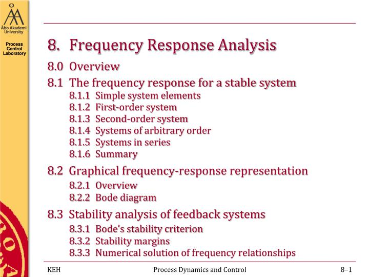 8 frequency response analysis