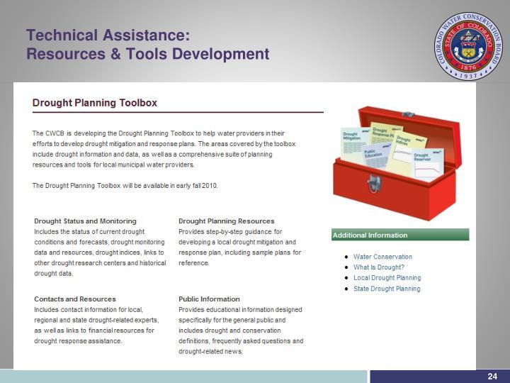 Technical Assistance: