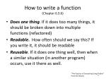 how to write a function chapter 6 3 6