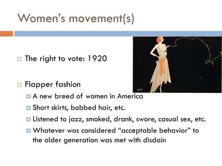 Women's movement(s)