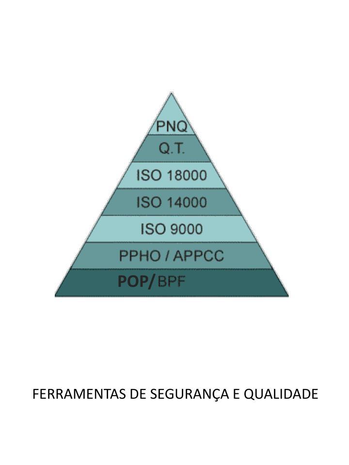 FERRAMENTAS DE SEGURANÇA E QUALIDADE